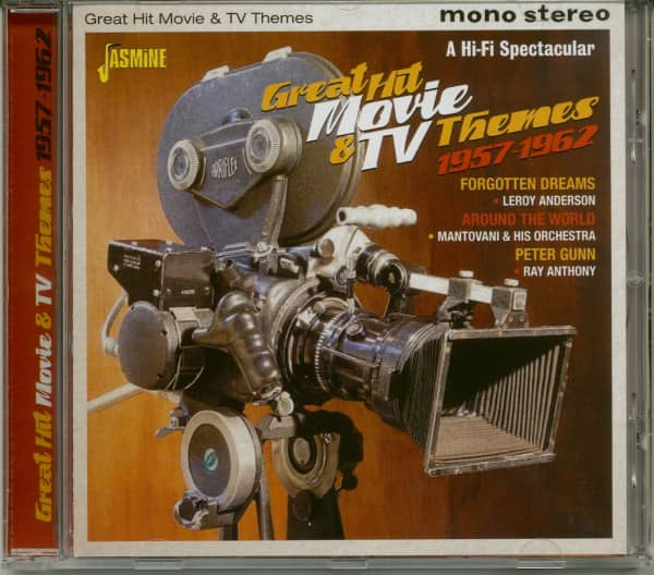 Great Hit Movie & TV Themes 1957-1962 (CD)