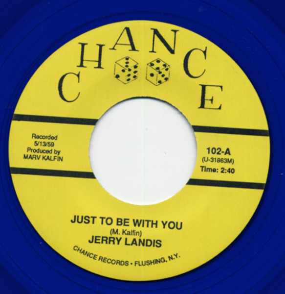 Just To Be With You b-w Ask Me Why 7inch, 45rpm