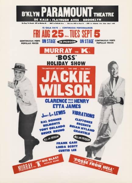 Paramount (Jackie Wilson - Murray 'K')(28x43cm)