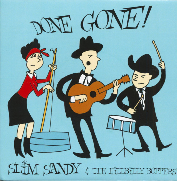 Done Gone! (7inch, EP, 45rpm, PS)