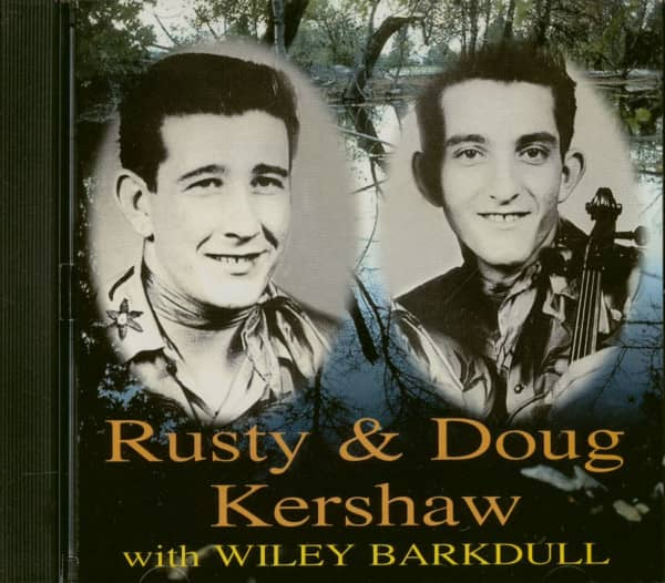 Rusty & Doug Kershaw With Wiley Barkdull (CD)