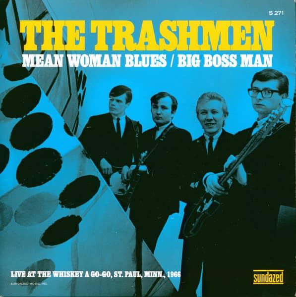Mean Woman Blues - Big Boss Man (7inch, 45rpm, PS, LTD)