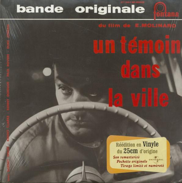 Un Temoin Dans La Ville - Soundtrack (LP, 10inch)