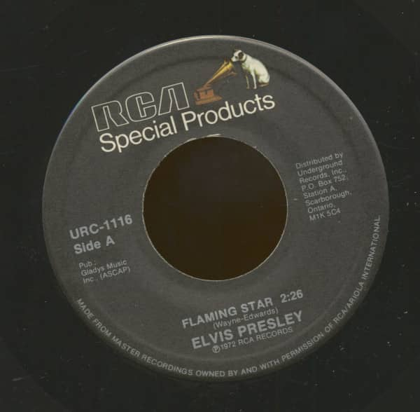 Flaming Star - G.I. Blues (7inch, 45rpm)