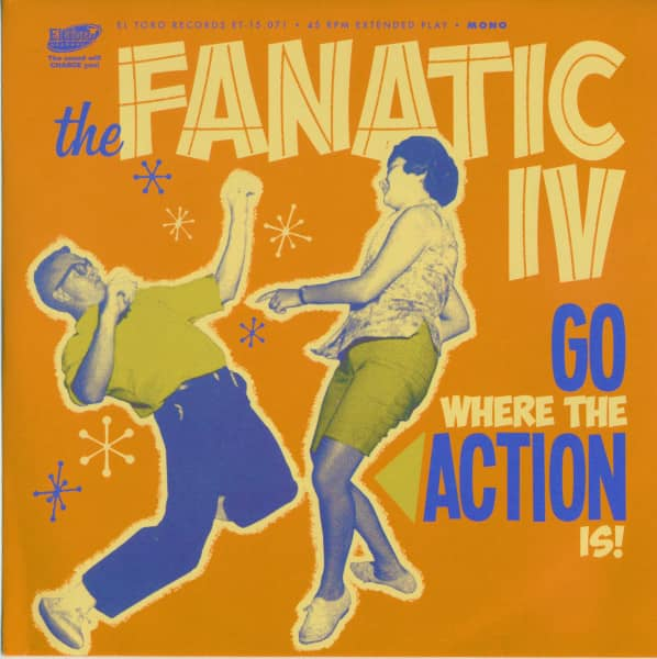 Go Where The Action Is! (33rpm, EP, PS)