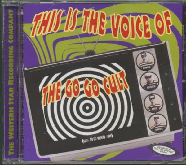 This Is The Voice Of The Go Go Cult (CD)