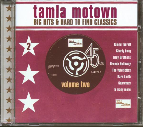Tamla Motown - Big Hits & Hard To Find Classics Vol.2 (CD)