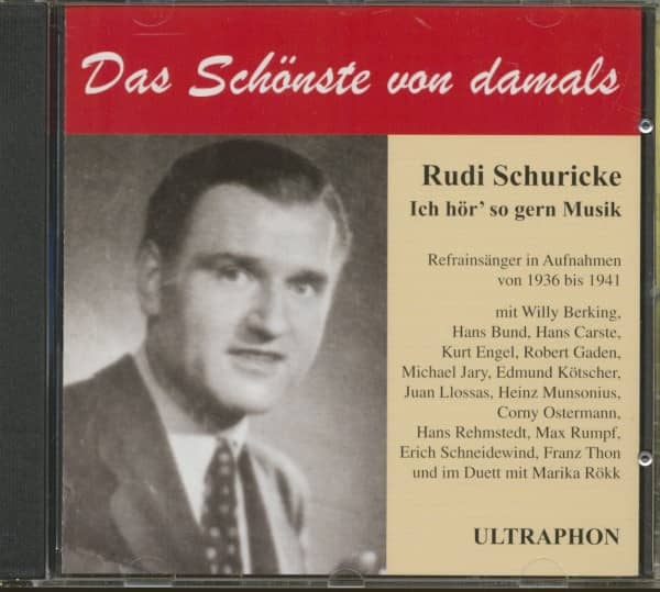 Ich hör' so gern Musik 1936-41 (CD)