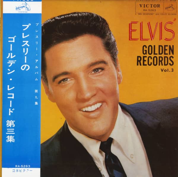 Elvis' Golden Records Vol.3 (LP)