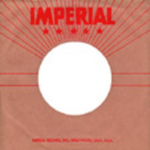 (50) Imperial USA - 45rpm record sleeve - 7inch Single Cover