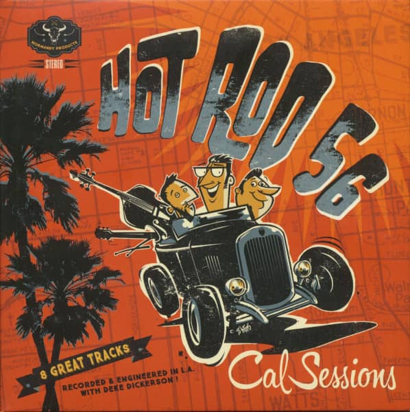 Cal Sessions (7inch Single & CD, Ltd.)