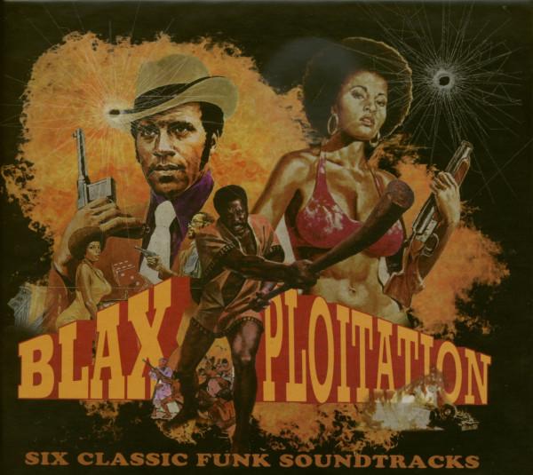 Blaxploitation - Six Classic Funk Soundtracks (6-CD Box)