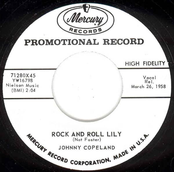Rock And Roll Lily - Can't Stop Me 7inch, 45rpm