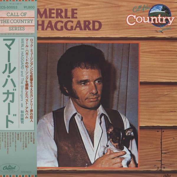 Call Of The Country - Merle Haggard & The Strangers (Japan Vinyl-LP)