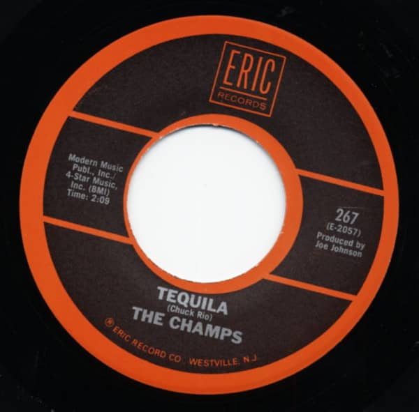 Tequila - Apache 7inch, 45rpm