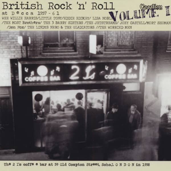 British Rock'n'Roll At Decca Vol.1 (CD)