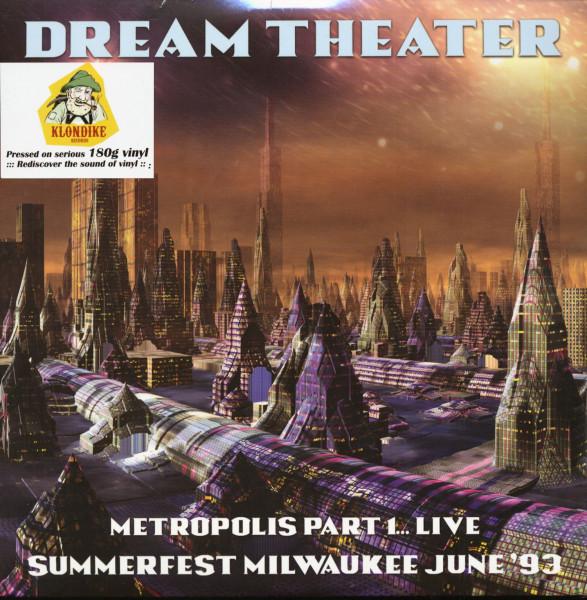 Metropolis Part 1... Live - Summerfest Milwaukee June '93 (2-LP)