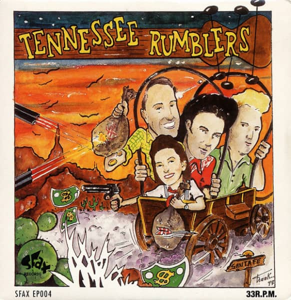 Down In Texas 7inch, 45rpm EP