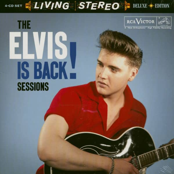 The Elvis Is Back Sessions (4-CD)