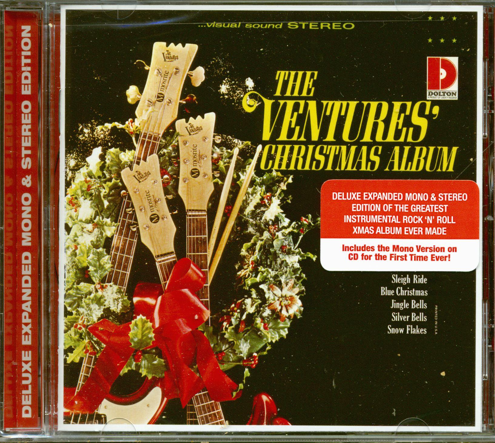 The Ventures CD: The Ventures\' Christmas Album (CD) - Bear Family ...