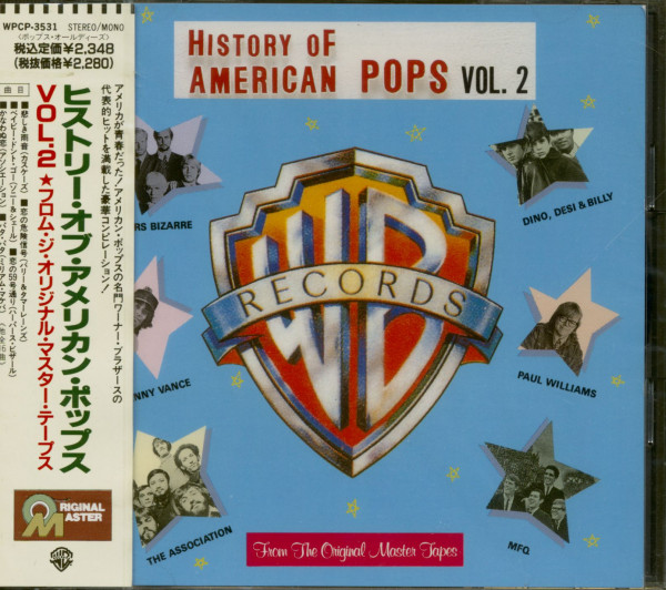 History Of American Pops Vol.2 (CD Japan)