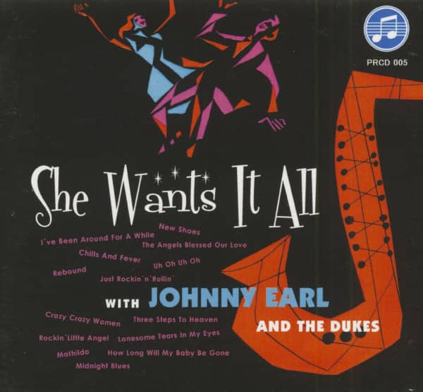 She Want's It All (CD)