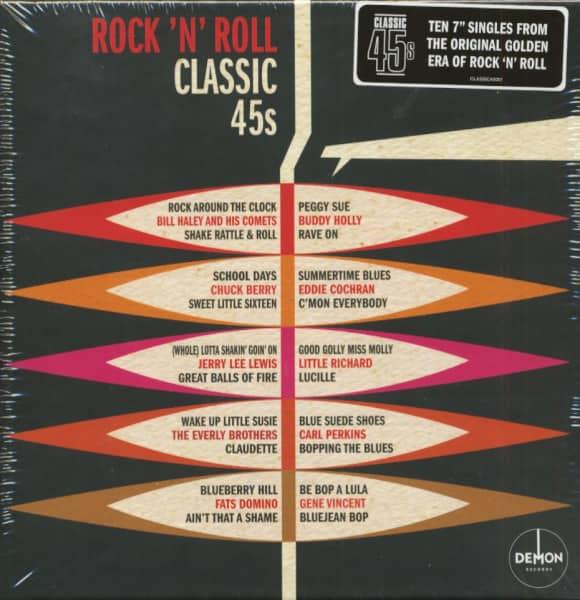 Rock'n'Roll Classic 45s (10x45rpm Box Set, 7inch)