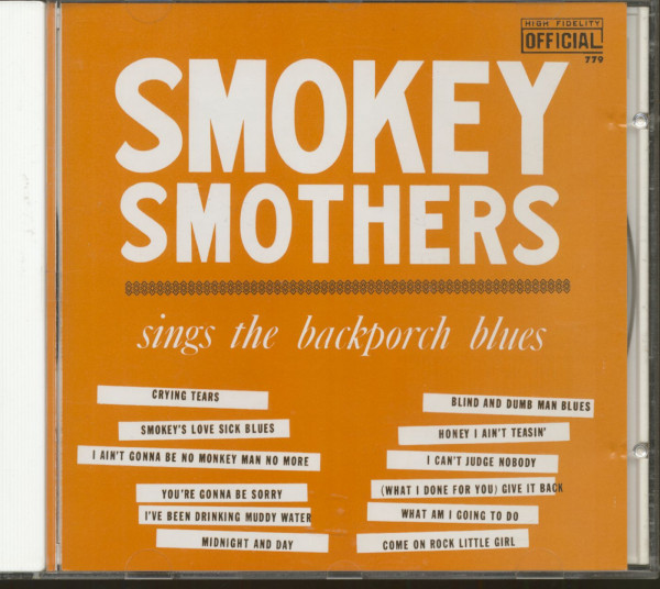 Sings The Back Porch Blues - The Complete Federal Sessions plus ... (CD)