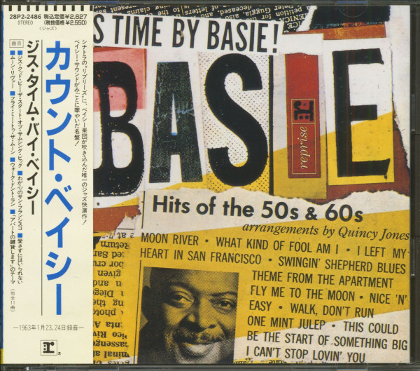 This Time By Basie - Hits Of The 50's & 60's! (CD, Japan)