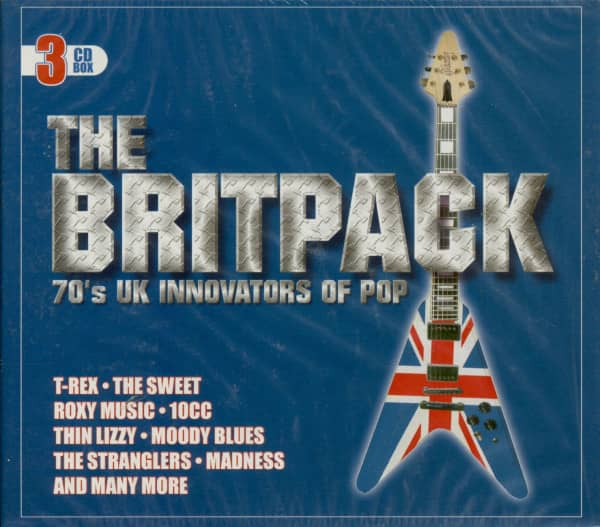 The Britpack - 70s UK Innovators Of Pop (3-CD)