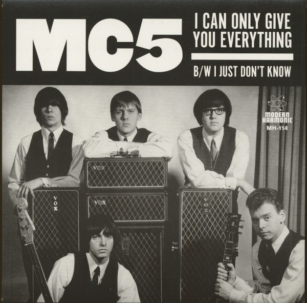 I Can Only Give You Everything - I Just Don't Know (7inch, 45rpm, BC, RSD)
