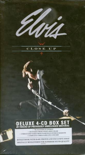 Close Up (4-CD, Hardcover Digibook, EU, Ltd.)