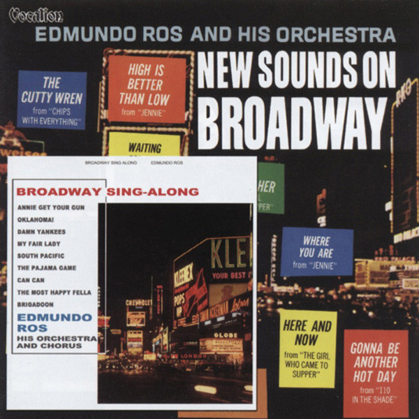 New Sounds On Broadway (1963) & Broadway Sing-Along (1961)