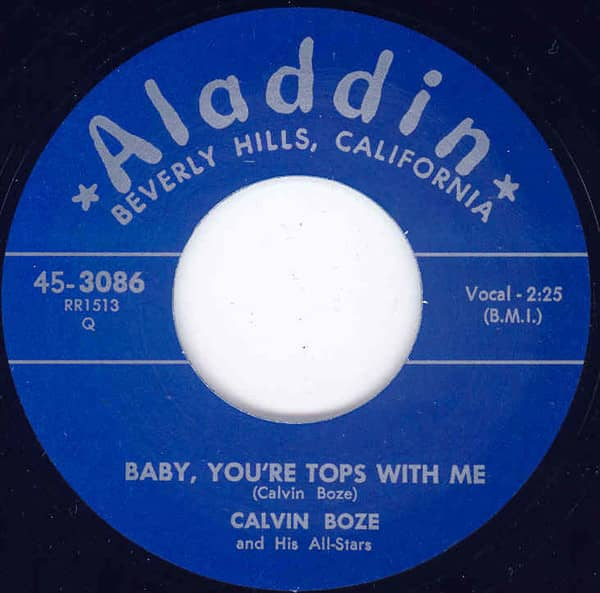 Baby,You're Tops ... - Slippin' & Slidin' 7inch, 45rpm