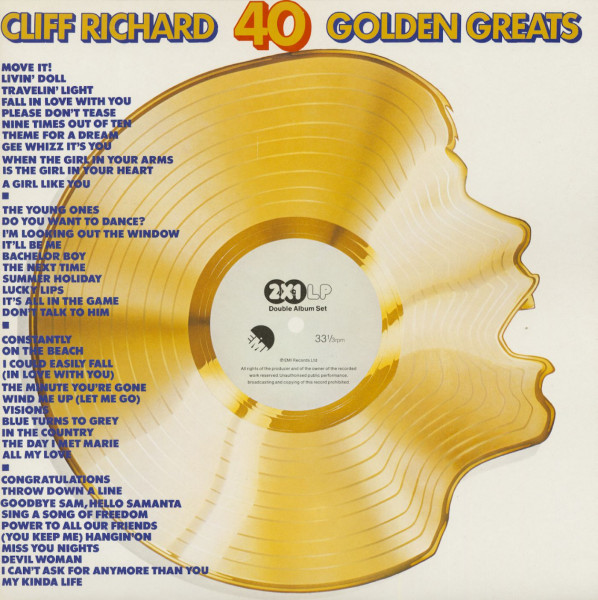 40 Golden Greats (2-LP)