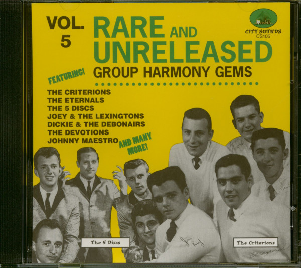 Rare And Unreleased Group Harmony Vol.5 (CD)