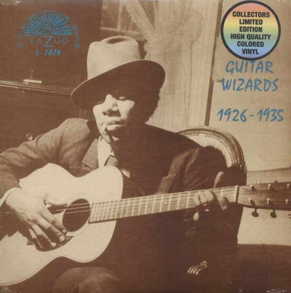 Guitar Wizards 1926-1935 (LP, Colored Vinyl, Ltd.)