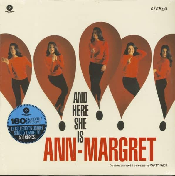 And Here She Is - Ann-Margret (LP, 180g Vinyl, Ltd.)