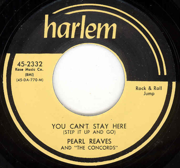 You Can't Stay Here - I'm Not Ashamed 7inch, 45rpm