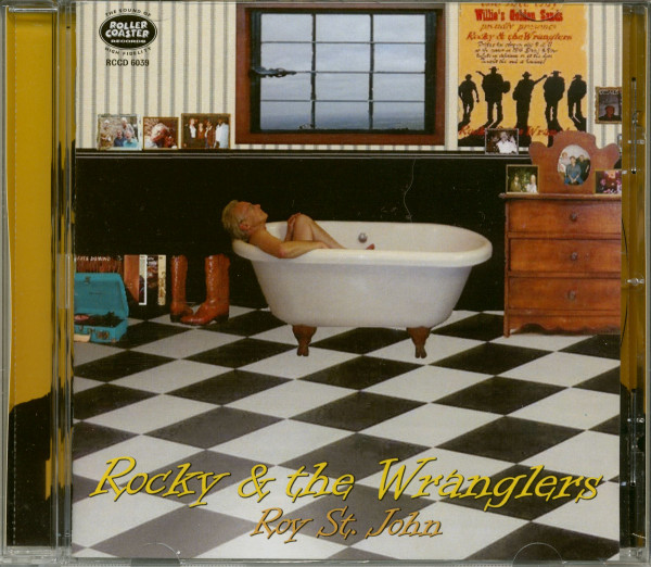 Rocky & The Wranglers - Roy St. John (CD)