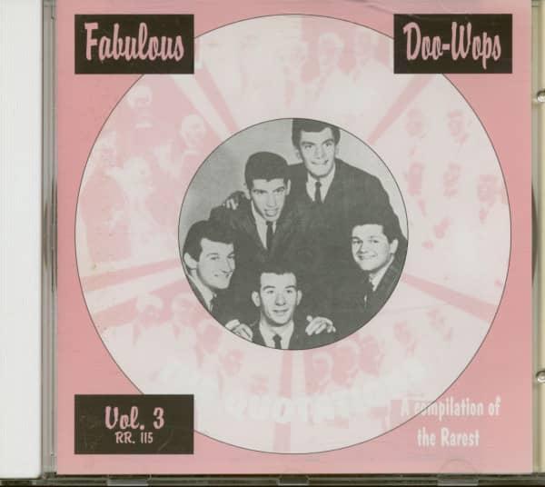 Fabulous Doo-Wops Groups Vol.3 (CD)