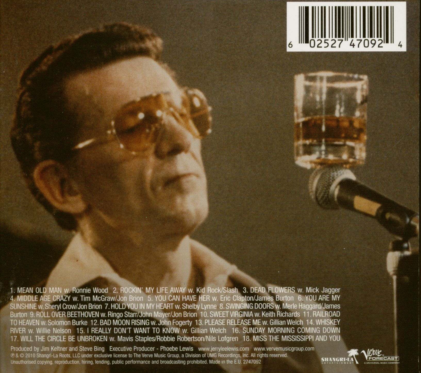 Jerry Lee Lewis Cd Mean Old Man Cd Deluxe Edition Eu
