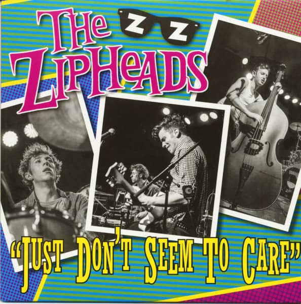 Just Don't Seem To Care (7inch, 45rpm, PS, SC, Green Vinyl, Ltd.)