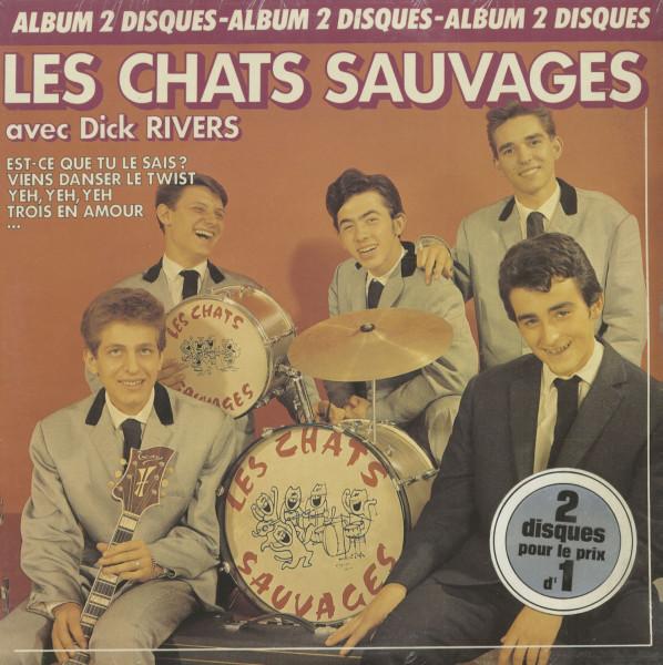 Les Chats Sauvages Avec Dick Rivers (2-LP)