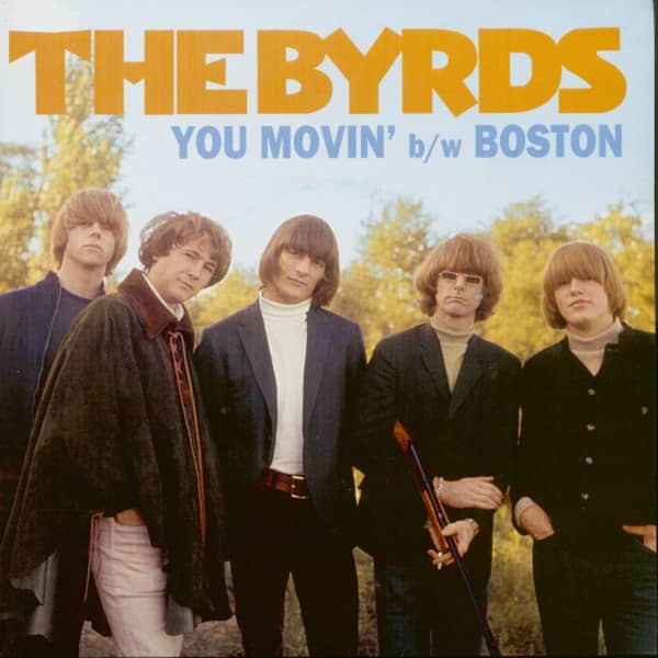 You Movin' - Boston (45rpm Single, BC, PS, Blue Vinyl)