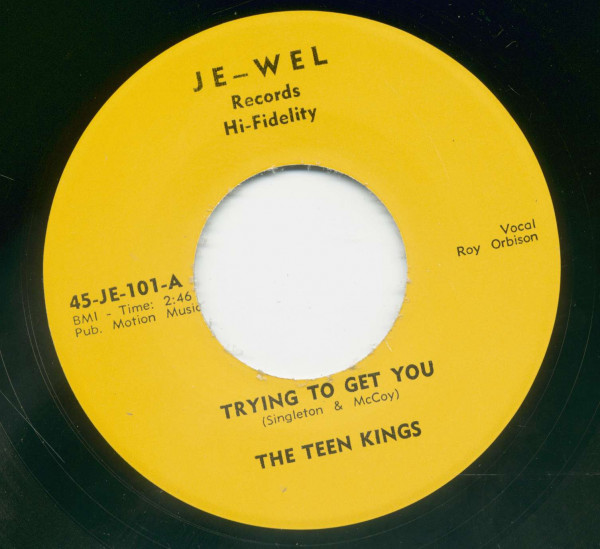 Oooby Dooby - Trying To Get You (7inch, 45rpm)