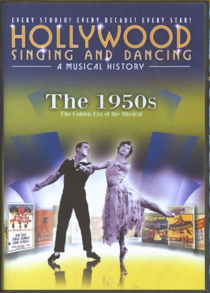 Hollywood Singing And Dancing - The 1950s (DVD)