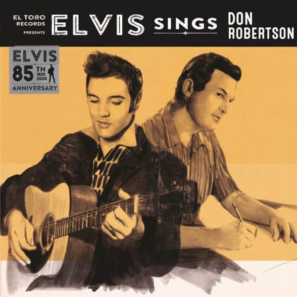 Elvis Sings Don Robertson (7inch, EP, 45rpm, PS)