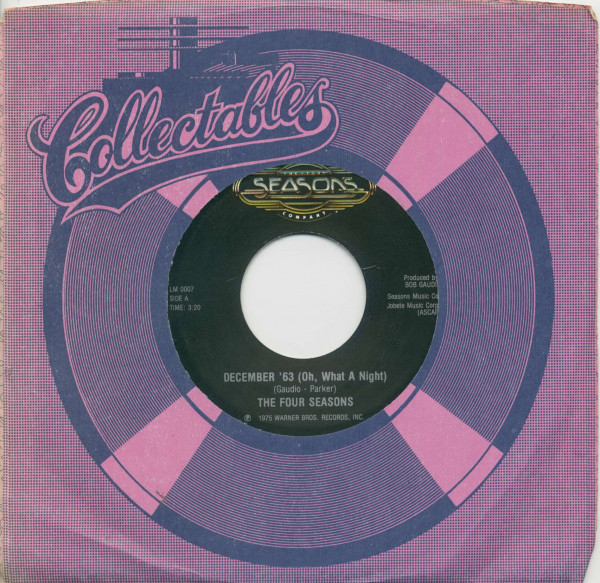 December '63 (Oh, What A Night) - Who Loves You (7inch, 45rpm, BC, CS)