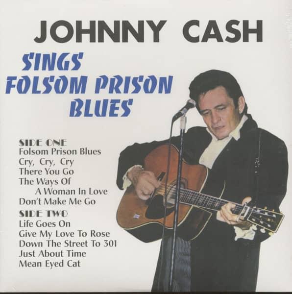 Johnny Cash Sings Folsom Prison (LP, 180g Vinyl)